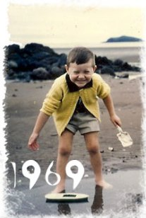 Me at North Berwick - 1969